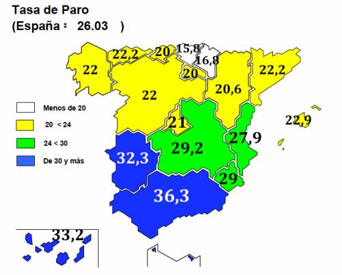 mapa paro epa 4T-2013